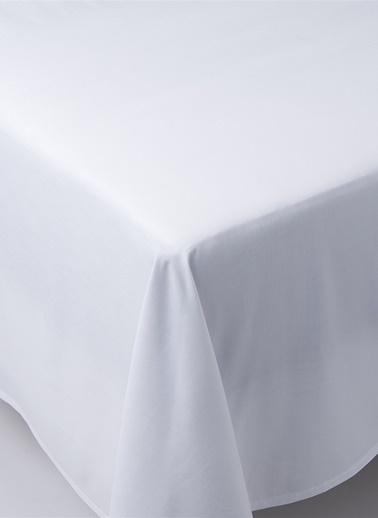 Chakra Classıc Unı Duz Carsaf Sng Beyaz